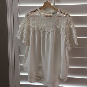 NWT Cotton and rayon top